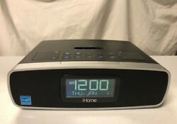 iHome iP90 Dual Alarm Clock Radio for iPhone / iPod Black with Remote