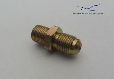 Wilwood Brake Hose Connector Fitting 1/8NPT to M10 x 1 for Brake Calipers