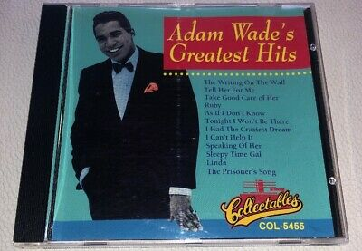 Collectables: Adam Wade's Greatest Hits (CD, 1993, Sony Music) COL-CD-5455 for sale  Shipping to Canada