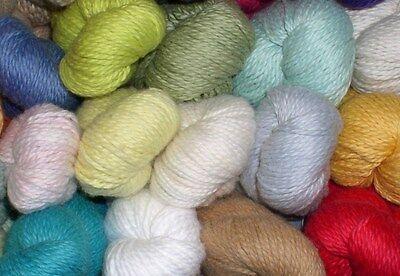 Blue Sky Alpacas Worsted Organic Cotton Yarn Select Color- Super Soft! ()