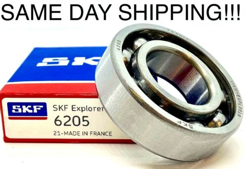 6205 SKF Bearing 25x52x15(mm) *OPEN No Seals or Shields* SAME DAY SHIPPING !!!