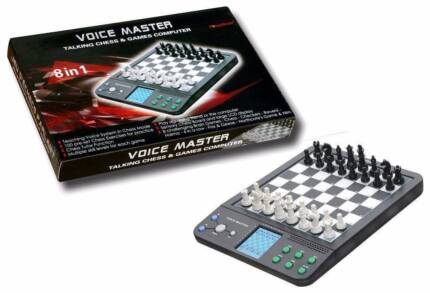 New Computer Talking Magnetic Electronic Speaking Chess Board Wavell Heights Brisbane North East Preview