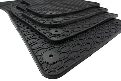 NEU Audi Gummi Fußmatten A6 4F C6 Avant Allroad 4x Gummimatten Original Qualität