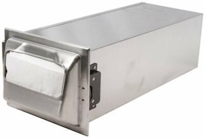 San Jamar H2000 Stainless Steel In-counter Minifold Napkin Dispenser 750 Plus