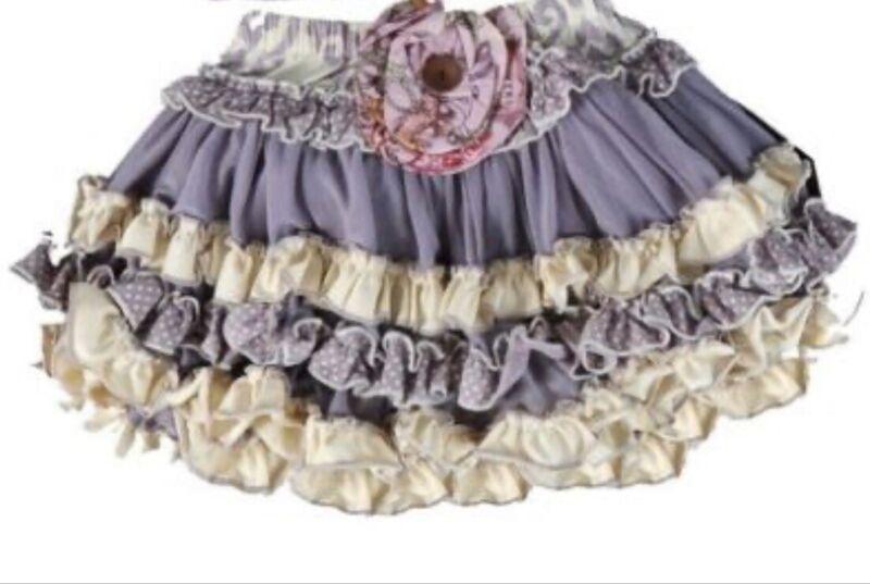 💜 Mustard Pie Kensington Tulle Twirl Skirt Size 4T