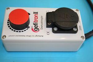 Elektromotor,Drehzahlregler Gefi Gefitron 2400W, 230V, f Motore mit Kohlebürsten