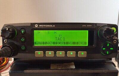 Motorola Xtl2500 Vhf 136-174 Mhz 110w P25 Digital Mobile Radio M21ktm9pw1an Xtl