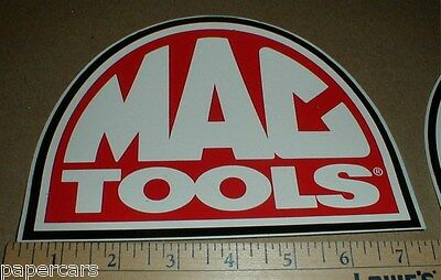 "Mac Tools Tool box New auto racing Nascar Original contingency decal sticker 7"" for sale  Shipping to Canada"