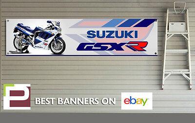 Suzuki GSXR 1100 Banner for Workshop, Garage, Man Cave, 1989 GSXR