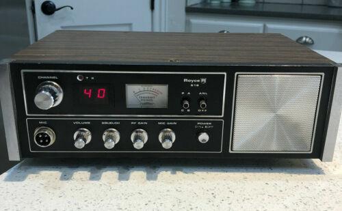 Royce 619 40 Ch.  CB Base/mobile Radio.