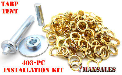 403Pc Grommet Installation Repair Kit for Tents, Awnings and Tarps