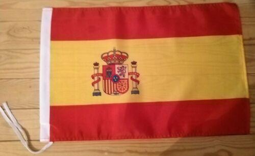 """SPAIN FLAG - 45cm x 30cm - 18"""" x 12""""  -  Spainish Flag"""