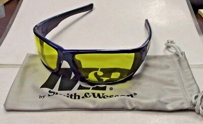 Smith Wesson Sw101-40id Performance Shooting Glasses Amber Lens