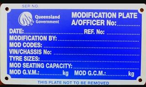 Mod plates Morayfield Caboolture Area Preview