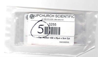 Idex Upchurch 3255 Tubing Peeksil 132 X 25um X 5cm 2pk Lot Of 5 Pks