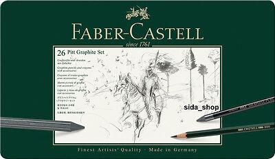 Faber-Castell Set PITT Graphite groß Metalletui 26-teilig Etui NEU&OVP