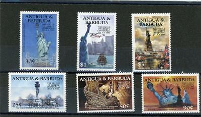 Antigua 1984 Scott 828-33 Mint LH, - $1.55
