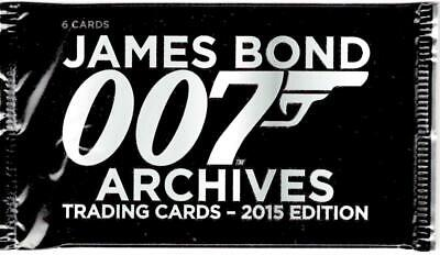 2015 James Bond Archives Trading Card Pack