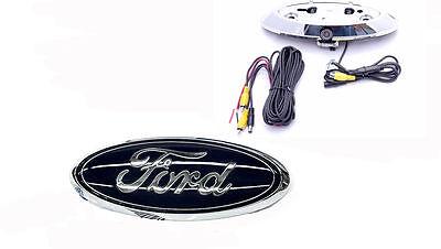 Ford Emblem Backup Camera 2004-2014 F150/F250/F350/F450 w/ Built-In Rydeen