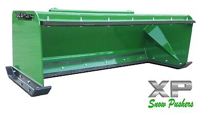 6 Xp24 John Deere Snow Pusher W Pullback Bar - Tractor Loader - Local Pick Up