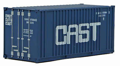 H0 Container 20 Fuß CAST -- 8009 NEU