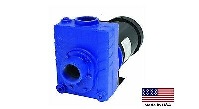 Centrifugal Pump Stainless Stl - 2 Ports - 1.5 Hp - 230460v - 3 Ph - 6600 Gph