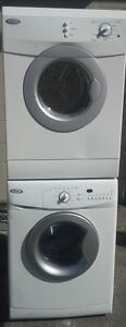 "WHIRLPOOL 24""W FRONT LOAD WASHER DRYER STACKABLE"