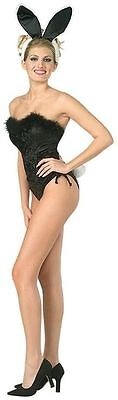 Small Halloween Party (Adult Womens Classic Showgirl Playboy Bunny Halloween Party Costume Small)