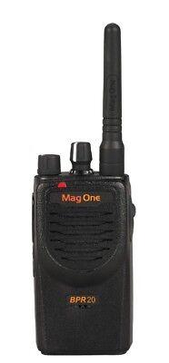 New Motorola Mag One Bpr20 Vhf Two Way Radio Walkie Talkie Portable 16 Ch 2 W