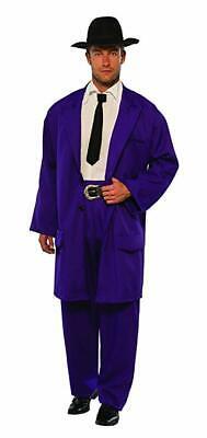 Purple Zoot Suit Gangster Mobster 1920's 1940's Mob Mafia Adult Men's Costume](1940 Gangster Costume)