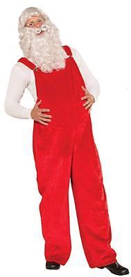 us Weihnachten Kostüm Rot Latzhose Forum-Neuheiten (Santa Claus Hose)