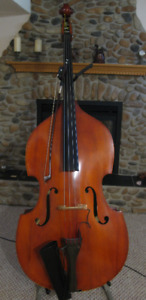 Great upright bass - solid top