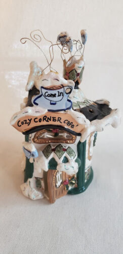 Clayworks By Heather Goldminc Cozy Corner Cafe - Numbered