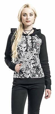 VANS x Marvel Women's Black Hoodie Size:XS,S,M,L,XL, rrp:£65, RARE