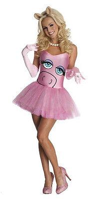 The Muppets Secret Wishes Miss Piggy Sexy Adult Costume Dress Size - Sexy Miss Piggy Kostüm