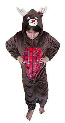 Just Love 6304-5/6-Reindeer  For Kids/Pajamas - Kids Reindeer Pajamas
