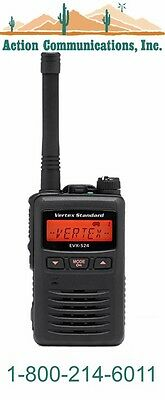 New Vertexstandard Evx-s24 Uhf 403-470 Mhz 3 Watt 256 Channel Two Way Radio