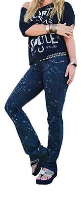Gypsy SOULE Women's Motley Fashion Jeans Denim Jeans 8 X 29