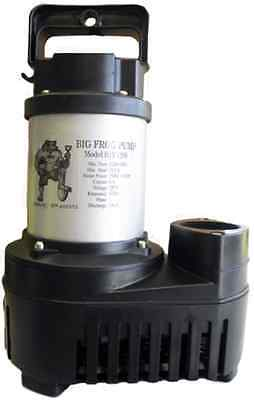 Anjon Big Frog BFED6500 Submersible Pump 6,500 GPH RELIABLE DURABLE ECO-DRIVE