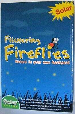 - Flickering Fireflies 7 LED bulb lights Solar Powered magic nature lights string