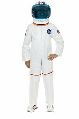 Charades Astronaut Flight Suit NASA White Childrens Halloween Costume CH00582 Childrens Flight Suit