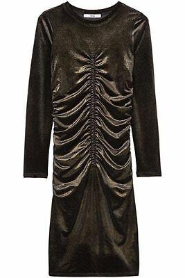 Amazon Brand - find. Women's Metallic Dress( Black/Gold). NEW!  BEST