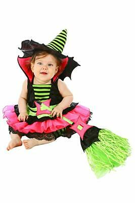 Princess Paradise Baby Girls' Spiderina Deluxe Costume, Black, 12 to 18 Months  - Baby Girl Witch Costumes