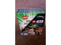 Star Wars Lego collection books - complete as new set