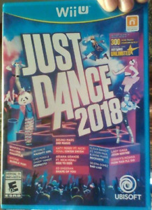 WiiU 2018 Just Dance