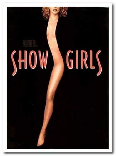 SHOWGIRLS - 1995 original PRESS KIT with 5 Stills - ELIZABETH BERKLEY - Stripper