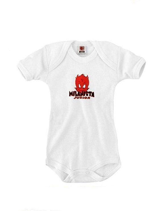 Body neonato bimbo Ac Milan abbigliamento tifosi squadre calcio official product