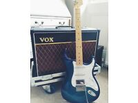 Vox AC15 amp with custom built flight case (guitar not inc!)