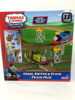 Fisher-Price Thomas & Friends TrackMaster, Cross, Switch & Stack Track Pack
