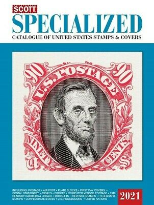 New 2021 Scott Specialized Catalog US Postage Stamp & Covers Best US Referance